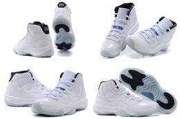 Wholesale Star Legend - 2016 Brand New Model High Quality Air Retro 11 XI Space Jams Legend Blue Men's Basketball Sport