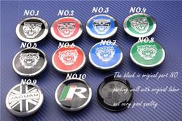 Wholesale Jaguar Caps - free shipping 20pcs NEW JAGUAR WHEEL CENTER CAP HUB BADAGE EMBLEM S TYPE X TYPE XJ8 XK8 XKR