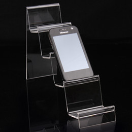 Wholesale Glass Watch Display Stand - 16*24.5*7cm clear acrylic bracelets bangles watch wallet display rack jewelry holder with new nice design A92