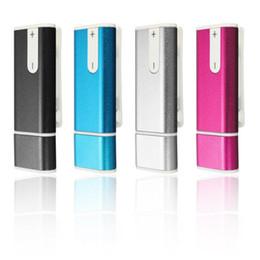 Wholesale Digital Memory Stick Recorder - Wholesale New Stylish Colrful Spy 8GB USB Flash Memory Stick Digital Voice Audio Recorder REC+MP3 player 20ps lot