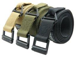 Wholesale High Quality Belt Low Price - Hot High Quality Low Price Brand Tactical New Military Black Hawk CQB Belt Plus Canvas Belt