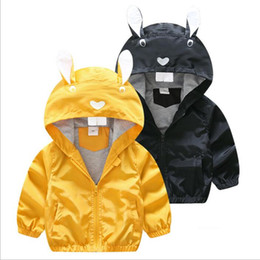 12529a66c26aa3 Bambini Giacca a vento Cappotto Ragazzi Animal Cartoon Hoodies Bambino  manica lunga giacca Top Outwear Abbigliamento Felpe Jumper Bambino  Abbigliamento ...