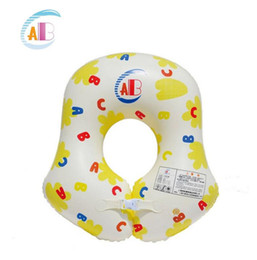 Wholesale Swim Trainer Baby - Wholesale- Thicken Baby Inflatable Underarm Swimming Float Laps Baby Swimming Ring Swim Trainer Boy Girl Swimming Pool Accessories 0-4years