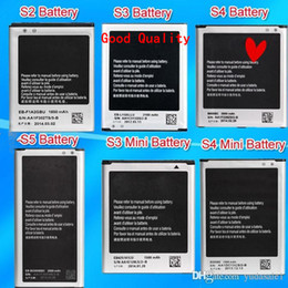 Wholesale Can Tops - Cheapest Can Mixed Order Battery Top Quality For Samsung Galaxy S2 S3 S3mini S4 S4 mini S5 Battery Note1 Note 2 Note 3 Note 4 Battery