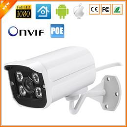 Canada 48V PoE Caméra IP 720P 960P 1080P Étanche Extérieure Bullet IP Caméra ONVIF Boîtier En Métal IP66 48V PoE Module Intégré Offre