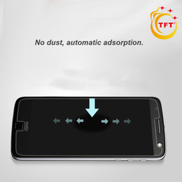 Wholesale Tempered Glass Prices - 0.3mm 2.5D 9H hardness For Motorola Moto G2 G3 XT1063 XT1064 XT1068 TFT Temper Glass Factory Price With gold Packing HD Ultra-thin Screen