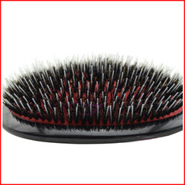 Wholesale Red Black Hair Extensions - Mason Hair Brush with Massage Paddle Comb Boar Bristles Mix Nylon Extension Brush