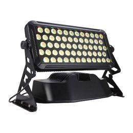 2019 al por mayor reflectores de energía solar Envío gratis de alta calidad 60X18W Silent IP65 impermeable RGBAW UV 6in1 LED de lavado de pared al aire libre LED luz de inundación