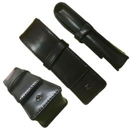 Wholesale Leather Wholesale Prices - 3PCS Wholesale price MB Good Quality Pen pouch mon gift pen bag suit for two pens