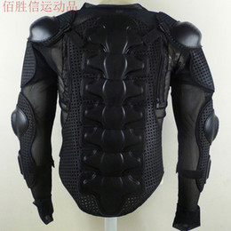 Wholesale Armor Motorcycle Clothing - Wholesale-motorcycle full body armor clothing flanchard armor vest breast pad back support skiing vest high quality