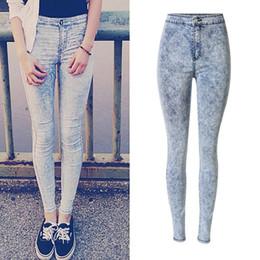 ace5bab56b5 Pantalones-Vaqueros-de-Cintura-alta-Para-Mujer-Loose-Jeans-Mujer -Plus-Tamaño-Jeans-Denim-Mujer-Pantalones