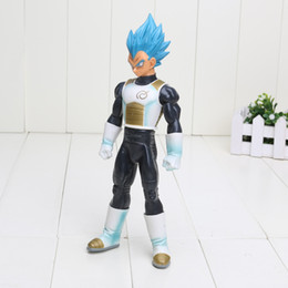 Wholesale God Piece - Wholesale 23cm Dragon Ball Z Master Stars Piece Figures Super Saiyan God SS Vegeta PVC Action Figure Toy