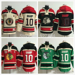 8ed97eb37 2016 cheap stitched Chicago Blackhawks ice hockey hoodie  10 Patrick Sharp Jersey  Hockey Hoodies Sweatshirts with size m-xxl