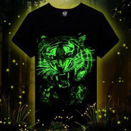 2019 al por mayor led camisetas Al por mayor-2016 El más nuevo animal impreso camiseta creativa 3d LED camiseta de los hombres de verano novedad 3D feminina camisetas ropa H677 rebajas al por mayor led camisetas