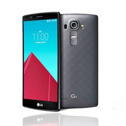 Wholesale Andriod Accessories - Original Unlocked LG G4 5.5 inch Hexa Core H815 H810 H811 3GB RAM 32GB ROM Andriod Smartphone Refurbished Phones