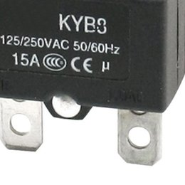 Wholesale Push Button Circuit - Wholesale-WSFS Wholesale AC125 250V 15A Push Reset Button Circuit Breaker Overload Protector