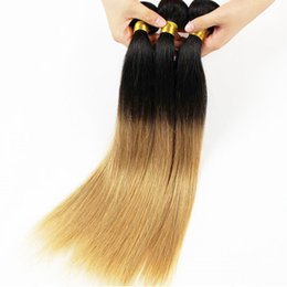Wholesale Mixed Queen Malaysian Hair - Ombre Platinum Blonde Virgin Hair 7a Grade Brazilian Virgin Hair Straight Queen Hair Brazilian straight Mink Brazilian Hair Annaberry