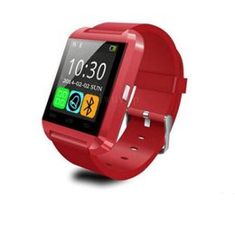 Wholesale Photo Call - Newest Watch U8 Bluetooth Watch Wrist bracelet Bangle Speaker Phone Call Remote take photos theftproof Smart Watch For iPhone 5S note3 S5