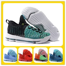 Wholesale Black Paradise - Kevin Durant Basketball Shoes KD 9 Birds Of Paradise KD9 Kevin Durant Green Black KD VIIII (9) sport Sneaker cheap Athletics wholesale price