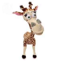"Wholesale Cute Giraffe Plush Toys - 1pcs 12"" 35CM Long Neck Giraffe Stuffed Plush Toy Madagascar 3 Cute Deer Doll for Kids High QUality"