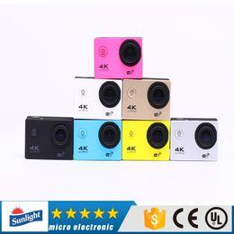 "Wholesale Micro Video Cams - hotsell 1pcs S6 WIFI Waterproof Sports Video Camera Ultra HD 4K 1080P 16MP 2.0"" Action DV Camcorder Travel Kit Mini Cam micro Camera kamera"