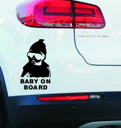 Wholesale Reflective Children - Car stickers Special MaiChao child Baby on board the car post child car Baby reflective warning sticker 03MKS