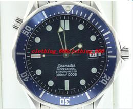 Wholesale Watch Men Chronometer - Luxury Men Watch Fashion Watch 2531.80 JAMES BOND LARGE BLUE CHRONOMETER Professional 300M AUTOMATIC Men's Watches men watch Wristwatch