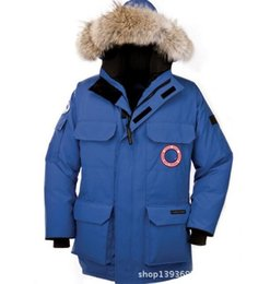 Wholesale Men Goose Down Coat - Winter fashion jacket for men's thicken keep Fashionable casual comfortable thickening warm down clothes Goose down jacket winter coat