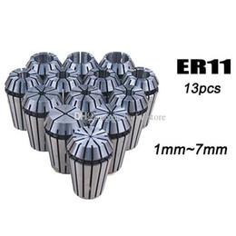 13Pcs ER11 Set di pinze a molla per macchina per incisione CNC Fresatrice per tornio B00263 OSTH da