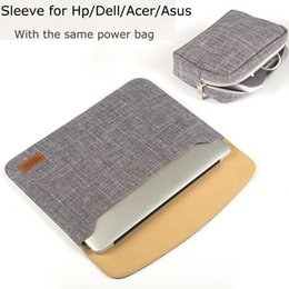 """Wholesale Covers For Hp Laptops - New Women Laptop Sleeve Bag 11 14 inch Notebook Carrying Case for Dell Lenovo Toshiba HP ASUS Acer 12"""" 13"""" Tablet Cover Men Bags"""