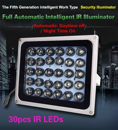 Wholesale Park Parking Assistant - High-End 150m high power 30pcs Array LED illuminator Light CCTV IR Infrared Night Vision For Parking lot HighWay Camera assistant