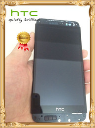 Wholesale E8 Screen - Original Full LCD Display Touch Screen Digitizer Assembly with frame for HTC One E8 M8SW dual sim free shipping