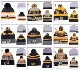 Wholesale Pink Offers - Album Offered 2016 New Wool Warm Beanie BOSTON BRUINS Hockey Beanies Men Women Knitted Hats Skull Snapbacks Cap Hip Hop Hat