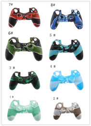 Wholesale Playstation Controller Grip - Best quality Soft Silicone Gel Rubber Case Skin Grip Cover For SONY Playstation 4 PS4 CMicrosoft Xbox One Wireless Controller