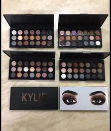 Бесплатная доставка 2018 Новый прибыть высокое качество макияж глаз Кайли Дженнер 21 цветов палитры теней для век !(1шт/много) от