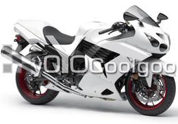 Wholesale White Zx14r - Fairing For Kawasaki ZX-14R ZX14R 1400 06 07 08 09 10 11 Ninja ABS White F1016C