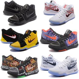 Wholesale Ivory Switch - 2018 New Mens Kyrie 3 Flip The Switch Basketball Shoes kyries 3 Sneakers for sale size 7-12 Come Free Shipping