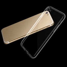 Wholesale Transparent Bag Iphone - Ultra Thin TPU case For apple Iphone 7 Case Iphone 7 Plus Case crystal Clear Iphone 6 6s Case Soft Transparent gel Case Opp Bag