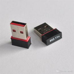 Wholesale Wireless Adapters Cheap - Mini PC Wifi Adapter for Windows MAC 802.11n 150M Wireless USB Adapter Cheap Antenna Computer Network Card