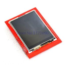 Wholesale Tft Lcd Guard - UNO R3 MEGA328P ATMEGA16U2 For Arduino +2.4 Inch TFT Touch LCD Screen Module ForArduino UNO screen guard for ipad 2