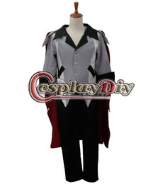 Wholesale Custom Cosplay Outfits - Wholesale-RWBY Qrow Branwen Cosplay Costume Adult Halloween Carnival Outfit Clothing Custom Made D0225