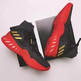 Wholesale quality walls - 2018 Authentic Crazy Explosive Boost Basketball Shoes Wiggins John J Wall 3 for Top quality Sports Training Sneakers Size 7-12 with box
