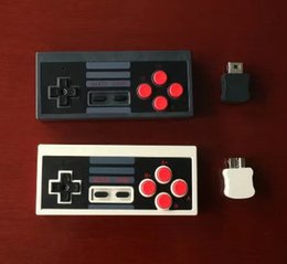 Wholesale Classic Gamepad - Newest Mini Rechargeable Game Joystick Wireless USB Plug and Play Gaming Controller Gamepad for Nintendo NS for NES Classic Edition DHL