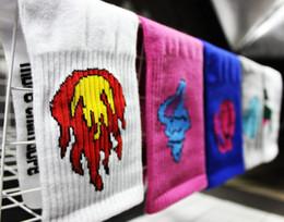 Wholesale Dope Wholesale - 2016 New cotton Socks Tide Brand More Than Dope style Funny Colour Harajuku Socks Men & Women Baseball Skateboard street sports Socks