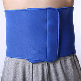 Wholesale Warming Waist Belt - Wholesale-20*95cm Thicken Back Waist Support Health Care Lumbar Warmer Brace Belt for Sport Basketball Braces&Supports LT020
