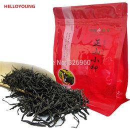 Wholesale Stomach Warmer - C-HC033 Chinese Organic Top Lapsang Souchong 250g without smoke Wuyi Red Tea Warm Stomach Black Tea