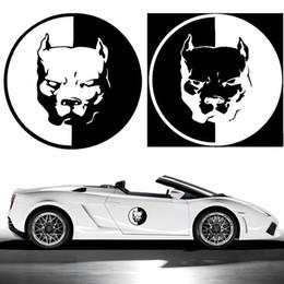 2019 autoadesivi decalcomanie auto vw 12 * 12cm PITBULL Adesivi Auto Moto 3D cane divertente autoadesivi dell'automobile Car Styling decalcomanie per ordine BMW VW Audi adesivi $ 18no pista sconti autoadesivi decalcomanie auto vw