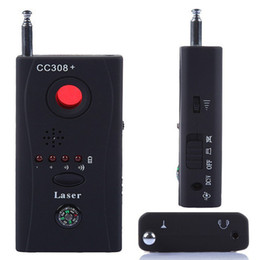 Wholesale Hidden Audio Listening Devices - CC308+ Hidden Spy Camera Signal RF Detector GSM Audio Bug Listening Device Finder CCTV IP Lens Laser