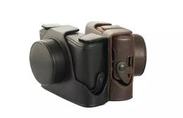 Wholesale New Fuji Camera - Wholesale-Brand New PU Leather Camera Bag For Fujifilm Fuji X100 X100S X100T Case Cover with Sholder Strap No Brand Logo Free Shipping