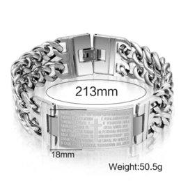 Wholesale European Cuff Bracelet - ashion men bracelets &bangles stainless steel bracelet with cross design jewelry Cheap bracelet balance High Quality bangle cuff bra...